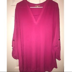 Tops - Hot pink blouse